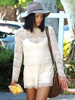 Have to Have it: Jenna Dewan-Tatum's Lace Romper