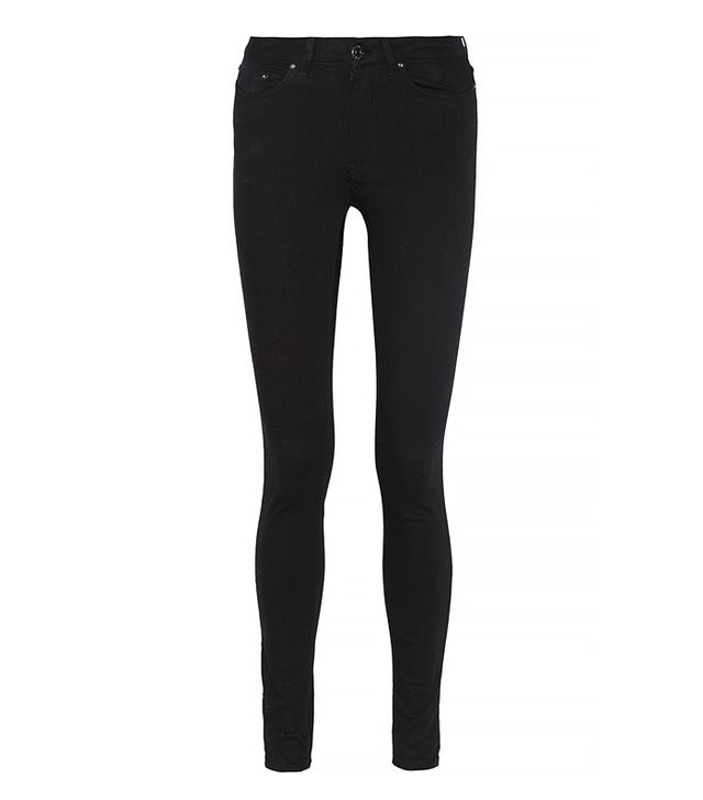 Acne Studios Pin Black High Rise Skinny Jeans