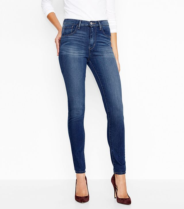 Levi's Super Stretch High Rise Skinny Jeans