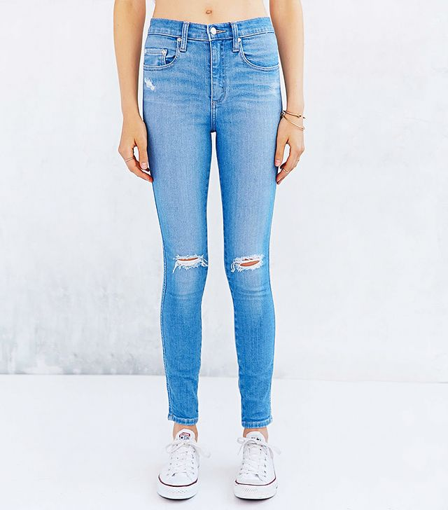 Nobody Denim Cult Skinny-Fit Jean - Glimmer