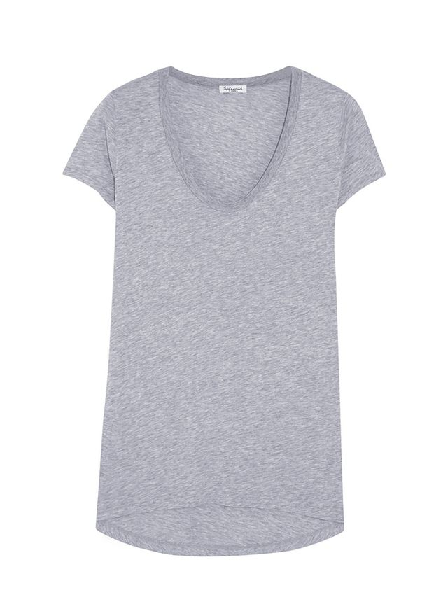 Splendid Cotton and Modal-Blend Jersey T-Shirt