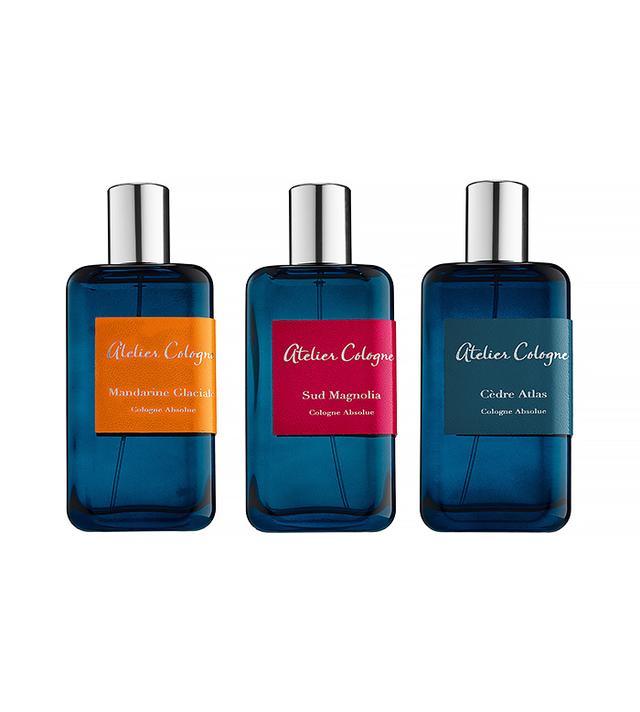 Atelier Cologne Collection Azur Eau de Parfums in Figuier Ardent, Mandarine Glaciale, Sud Magnolia and Cédre Atlas