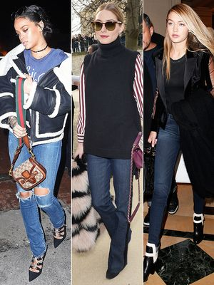 How to Style Your Jeans Like Gigi Hadid, Olivia Palermo & More