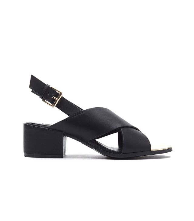Forever 21 Crisscross-Strap Slingback Sandals