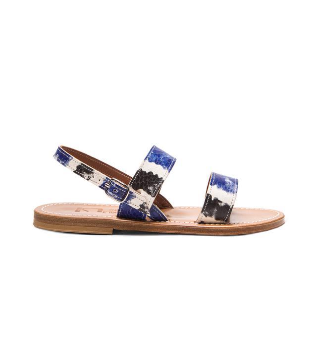 K Jacques Barigoule Leather Sandals
