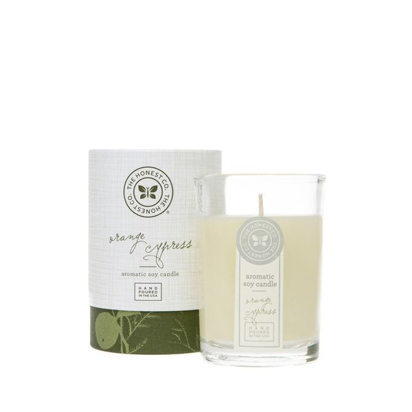 The Honest Co. Orange Cypress Aromatic Soy Candle