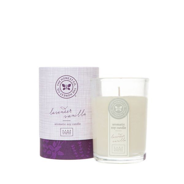 The Honest Co. Lavender Vanilla Aromatic Soy Candle
