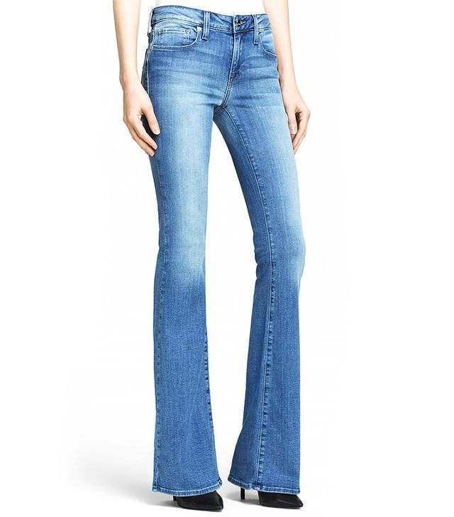 Genetic Los Angeles Leaf Fit and Flare Jeans