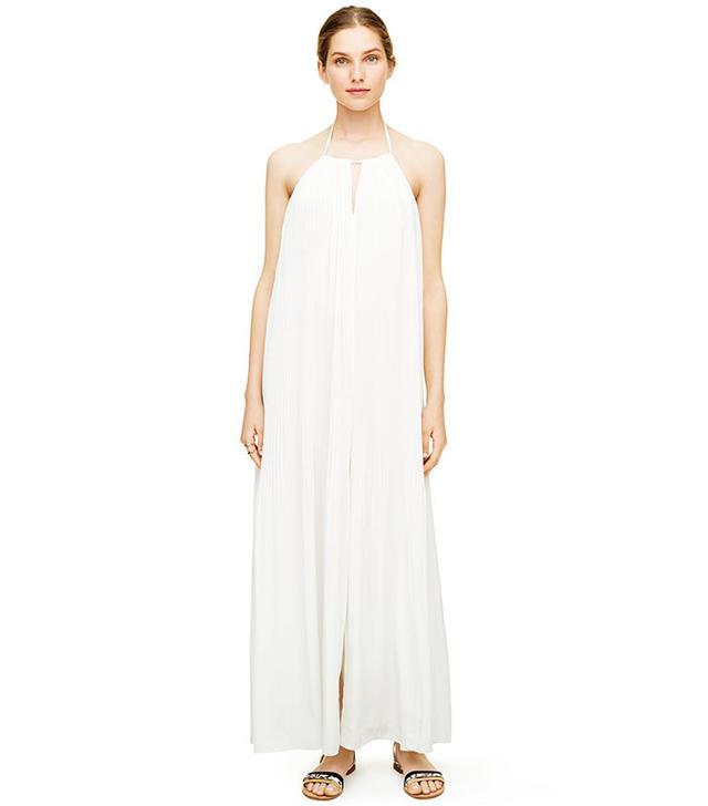 Club Monaco Cassidy Pleated Maxi Dress