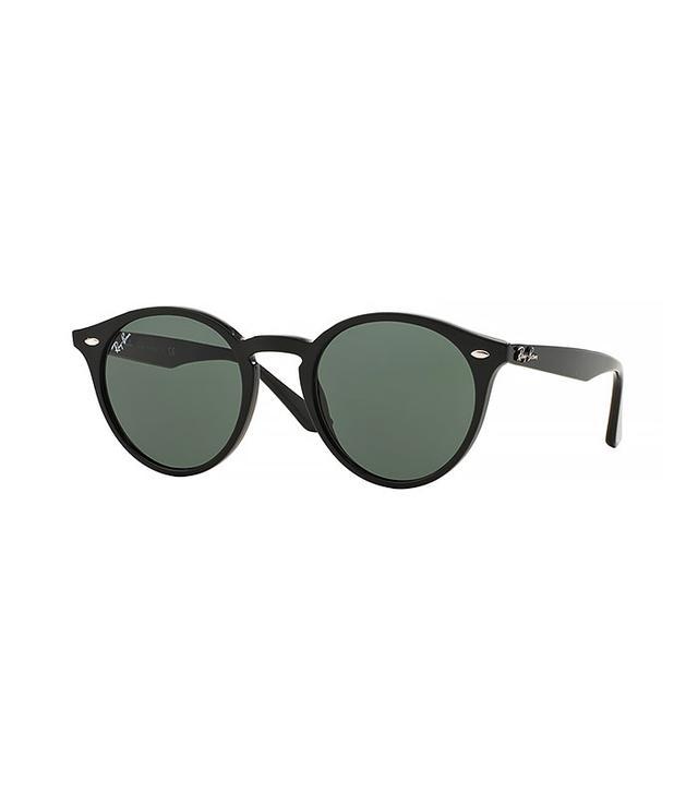 Ray-Ban Round Plastic Sunglasses
