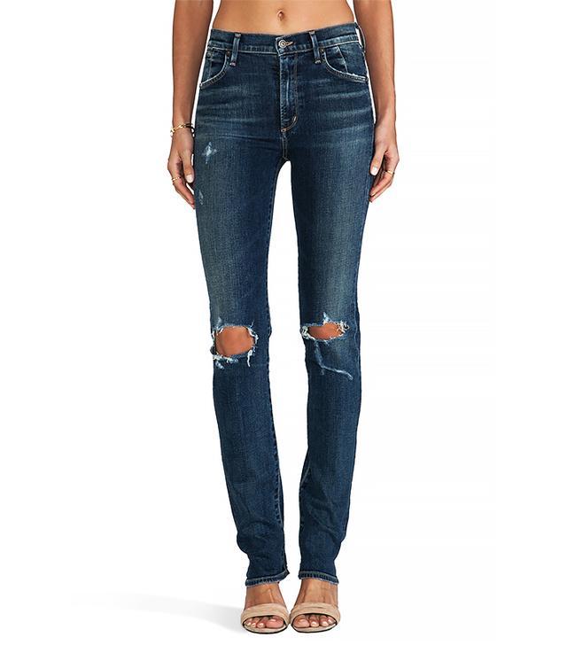 Citizens of Humanity Premium Vintage Arley High Waist Straight Leg Jeans
