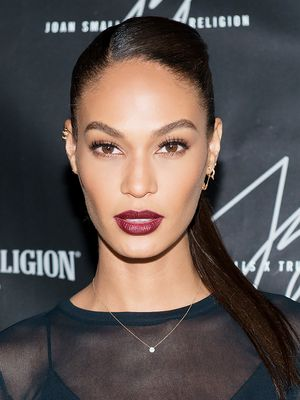 Joan Smalls' Epic Wine Lip, Plus More Celeb Beauty!
