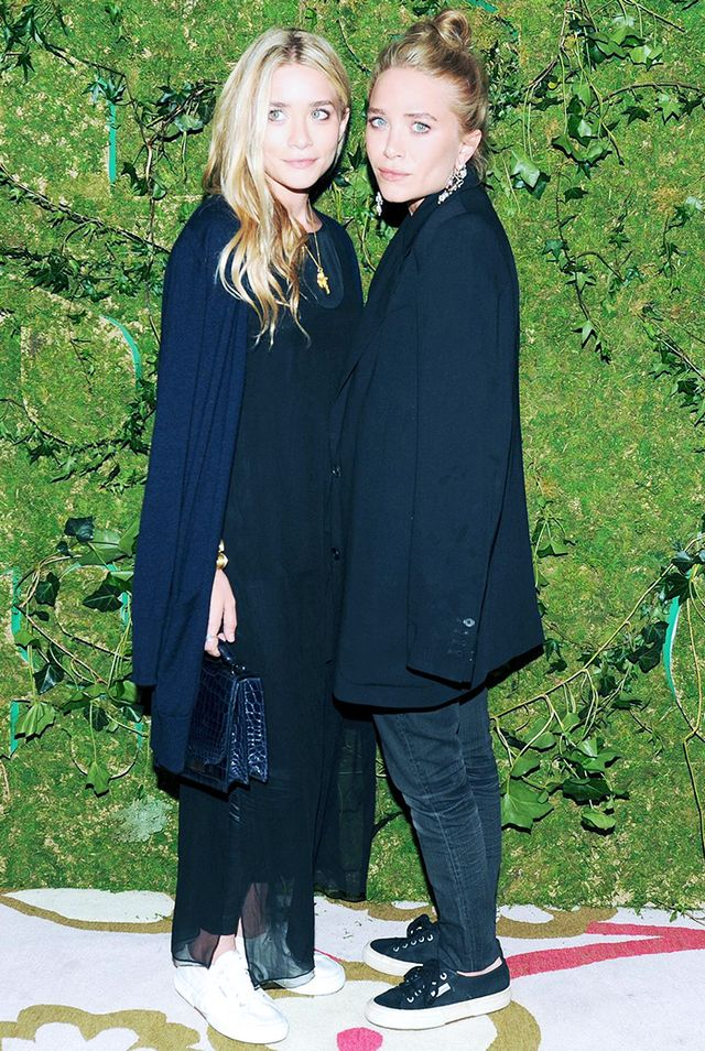 12. Jeans + sneakers = totally OK for the red carpet, when you're an Olsen.
