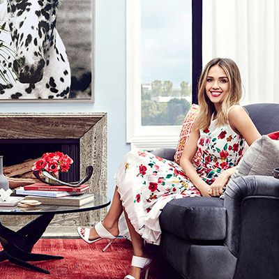 Exclusive: Tour Jessica Alba's Gorgeous Guesthouse