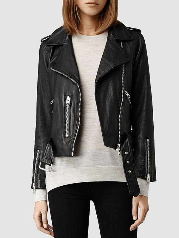 AllSaints Balfern Leather Jacket