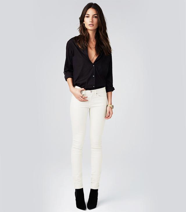 Velvet Yves Tuxedo Skinny Jeans