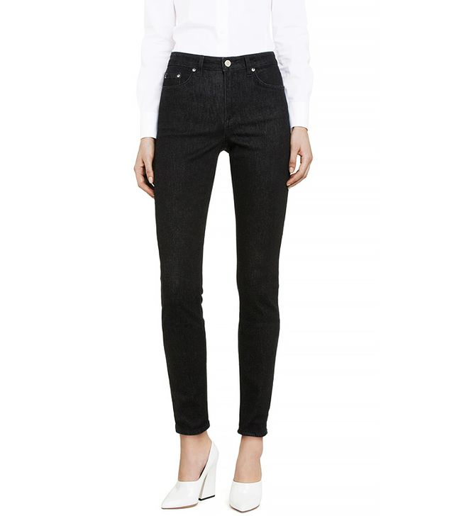 Acne Studios Skin 5 Soft Black Jeans