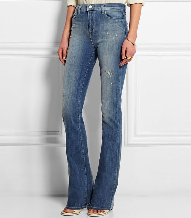 J.Brand Remy High-Rise Bootcut Jeans