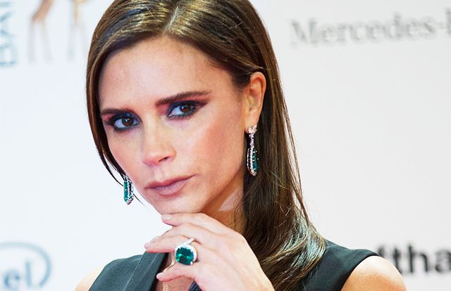 whoa victoria beckham has upgraded her enement ring 13 times - Victoria Beckham Wedding Ring