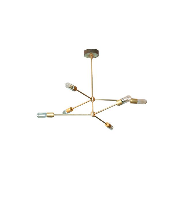 Sazerac Stitches 2 Tiered Sputnik Chandelier