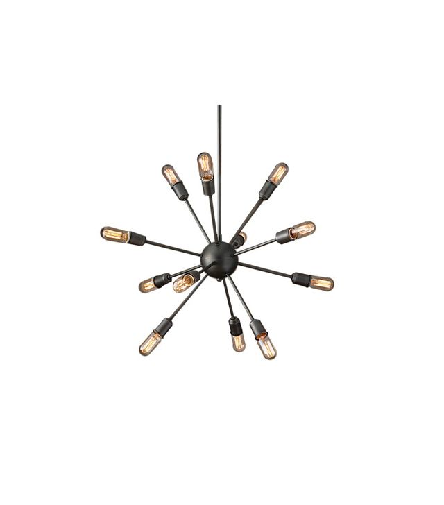 Restoration Hardware Sputnik Filament Chandelier