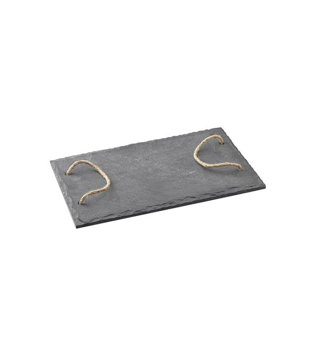 Williams-Sonoma Rectangular Slate Board with Rope Handles