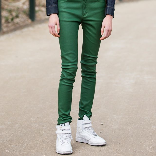 Are Colored Jeans Making a Comeback?