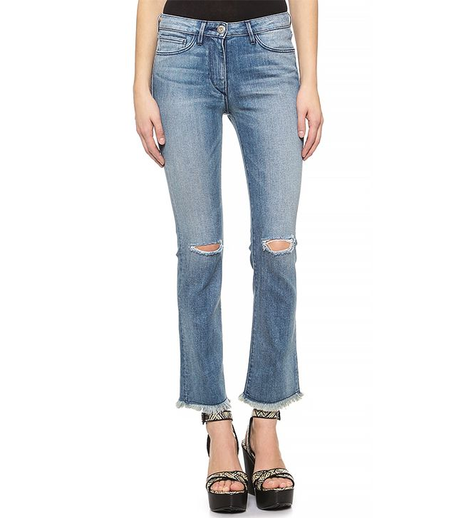 3x1 W25 Crop Baby Bootcut Jeans