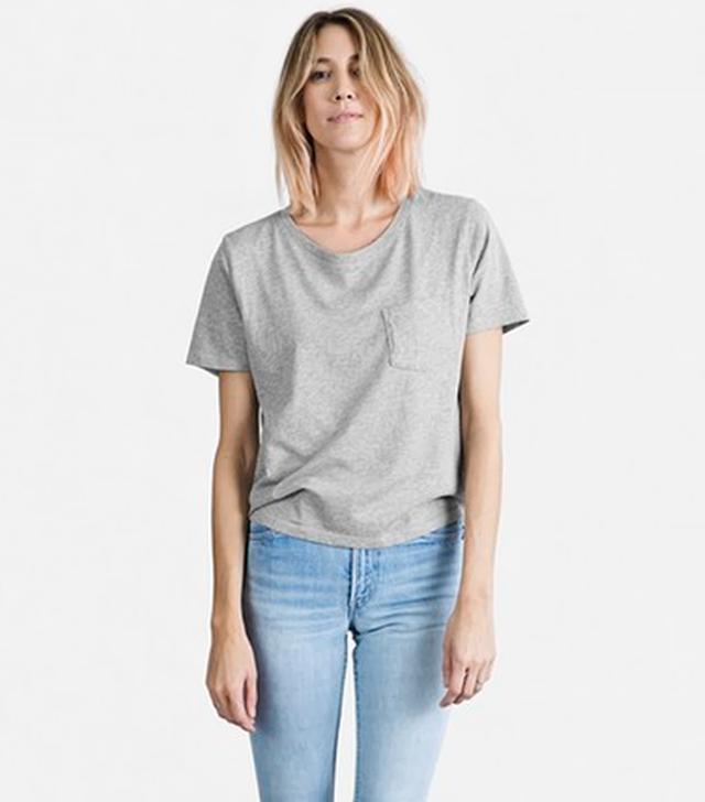 Everlane Cotton Heather Box Cut T-Shirt