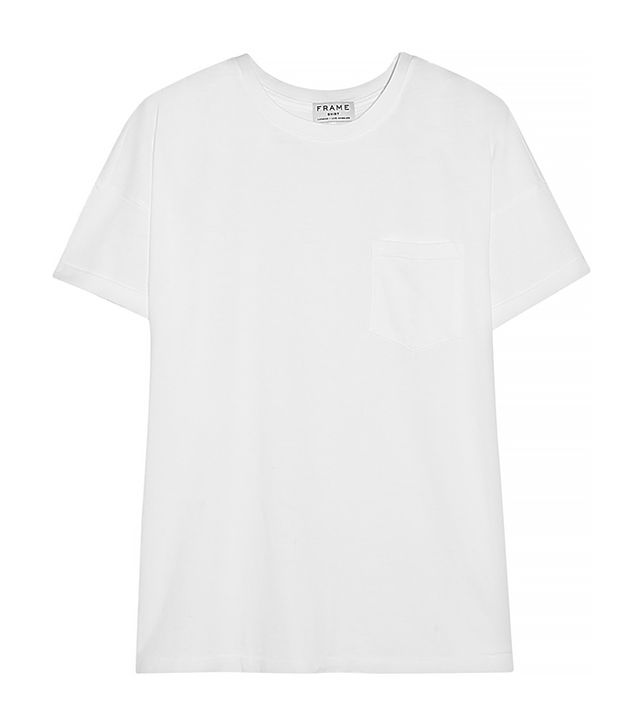 Frame Denim Le Boyfriend Supima Cotton-Jersey T-Shirt ($