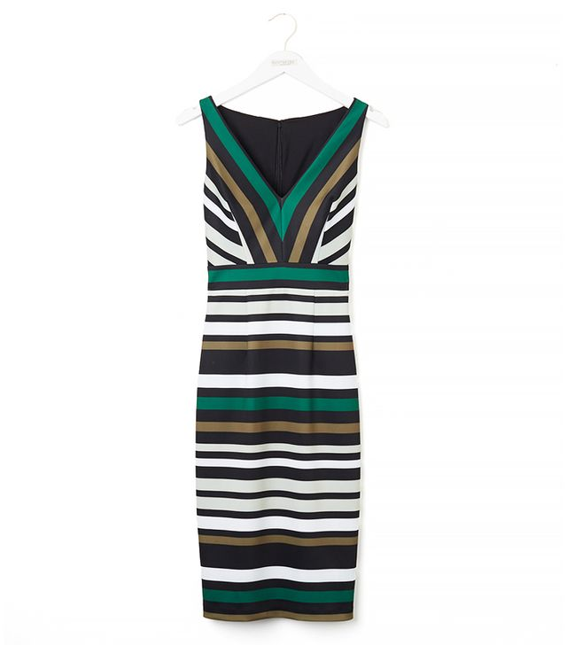 Eva Mendes Collection Kate Dress in Striped