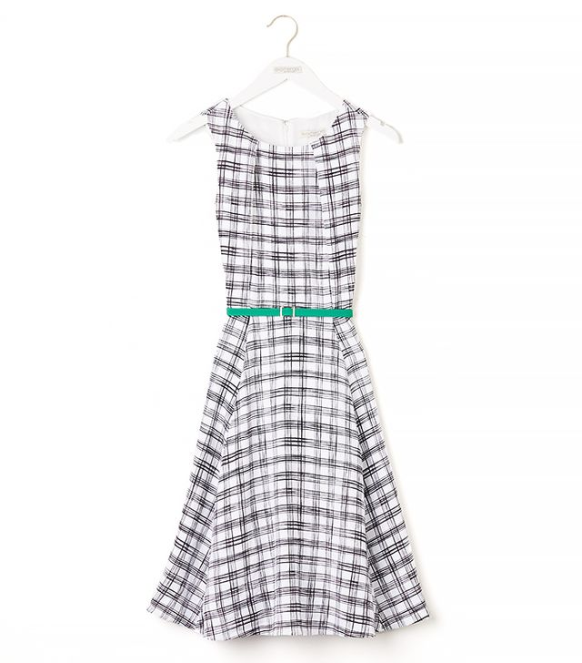 Eva Mendes Collection Riviera Dress in Plaid