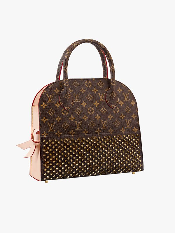 Louis Vuitton Christian Louboutin Shopping Bag