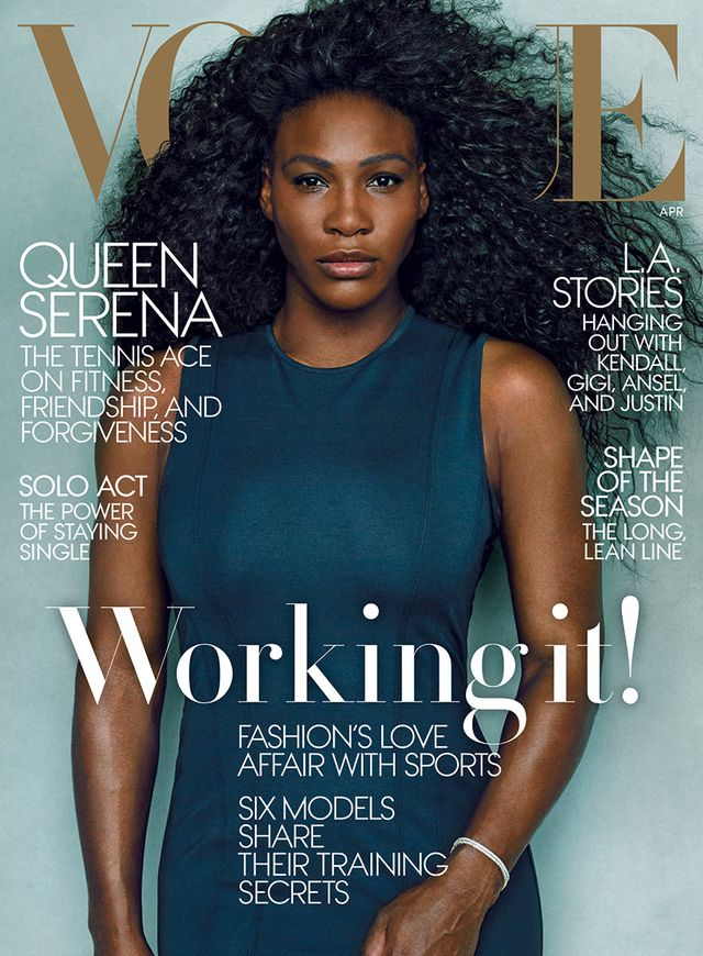 Serena Williams Looks Absolutely Stunning on Her New 'Vogue' Cover