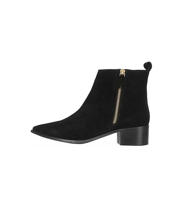 Topshop Almighty Suede Ankle Boots
