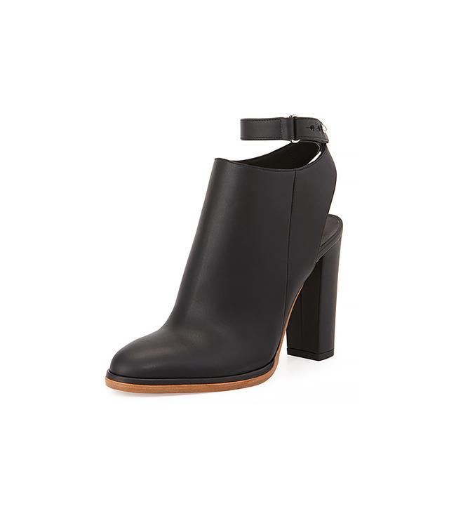 Vince Joanna Leather Slingback Boots