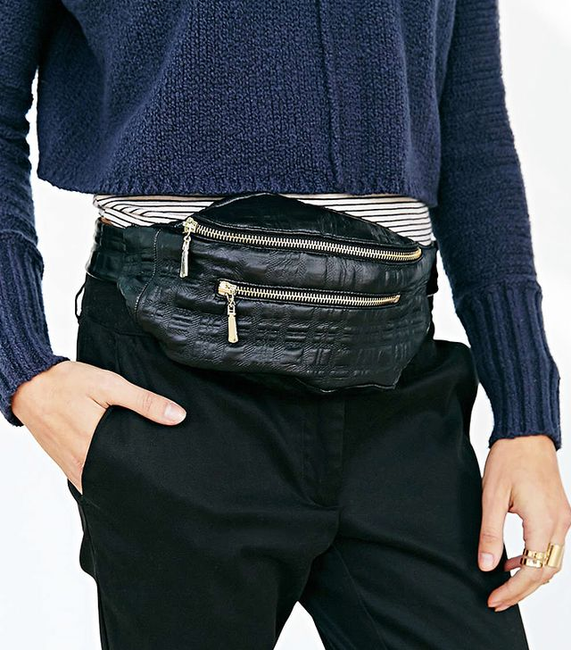 Shakuhachi Square Stamp Belt Bag