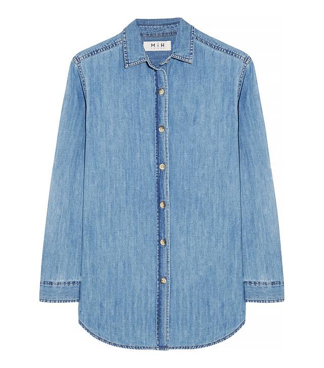 MiH Jeans The Loose Denim Shirt
