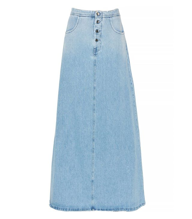 MM6 Di Maison Margiela Denim Skirt