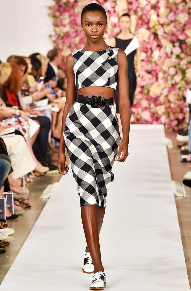 #2: Gingham Skirt