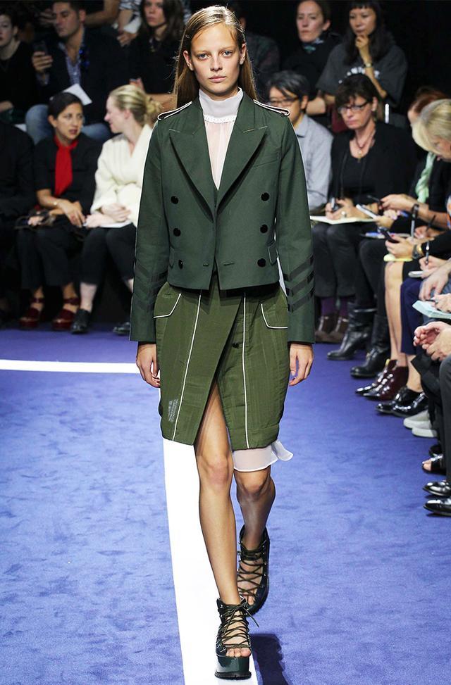 #3: Utilitarian-Inspired Skirt