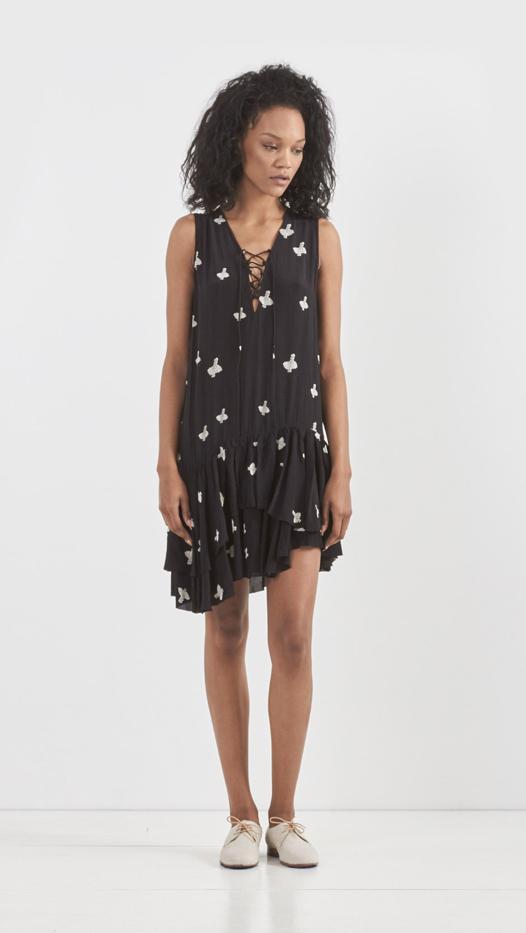 Zadig & Voltaire Rory Print Croix Dress