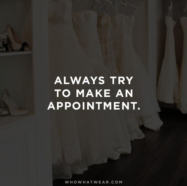 """We won't deter any bride from trying on dresses. However, they might have to wait—and sometimes the waiting can be long. Always make an appointment, that way we secure your..."