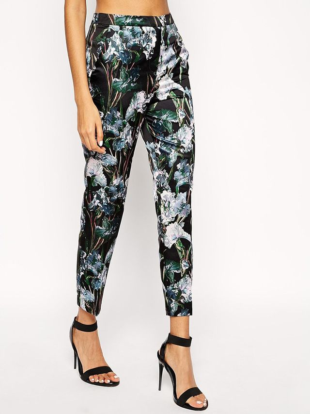 ASOS Relaxed Cigarette Trousers