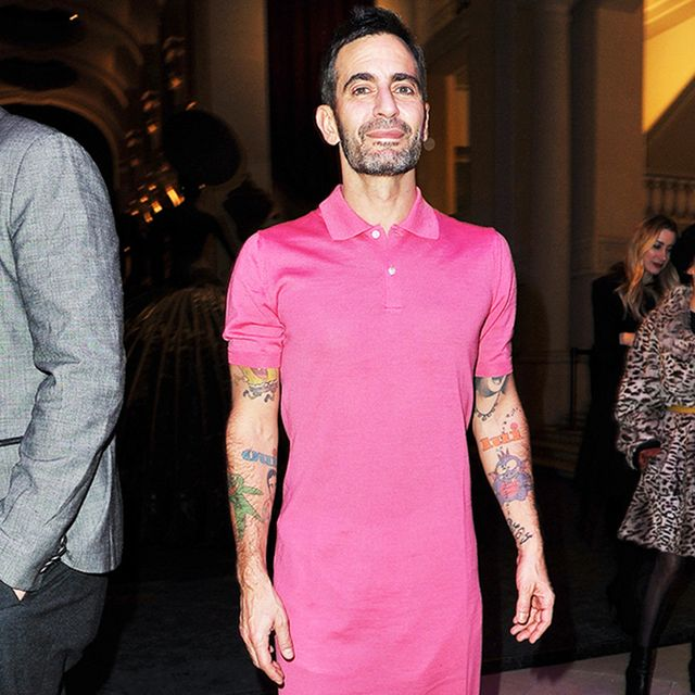 All the Times Marc Jacobs Wore a Skirt Better Than I Do