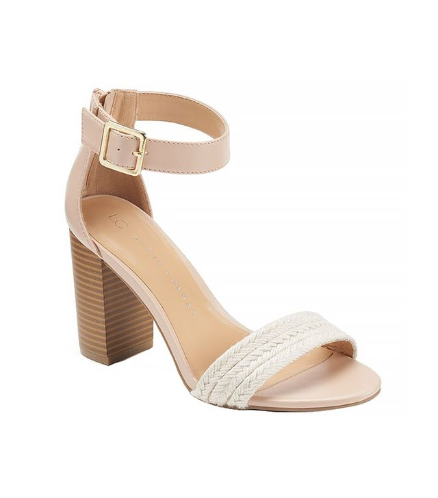 LC Lauren Conrad Woven High Heel Sandals