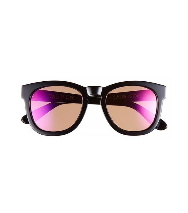 Wildfox Classic Fox Deluxe 50mm Sunglasses