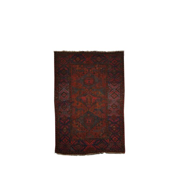 Lawrence of La Brea Antique Soumak Rug