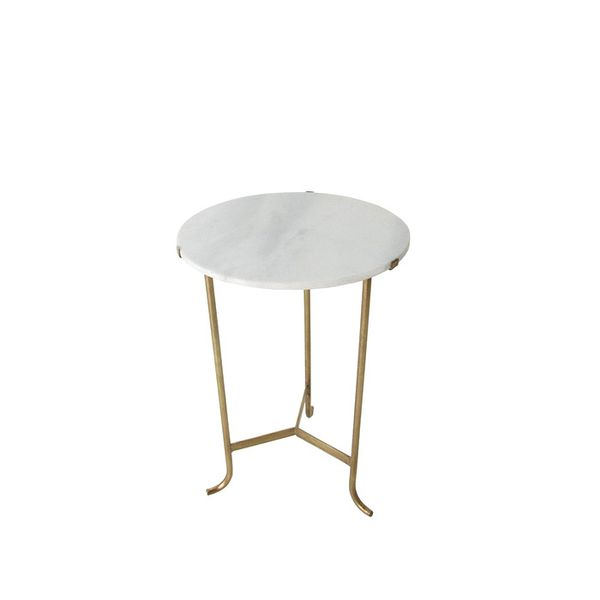 Michele Varian Marble Occasional Table