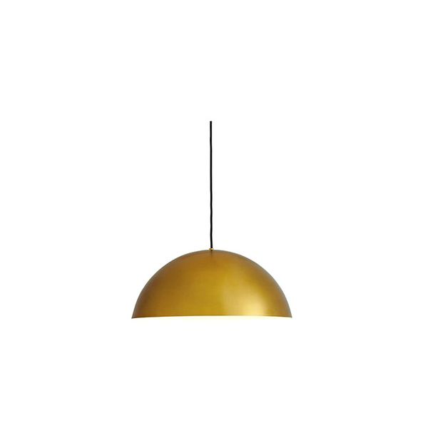 Room & Board Aurora Dome Pendant in Satin Brass